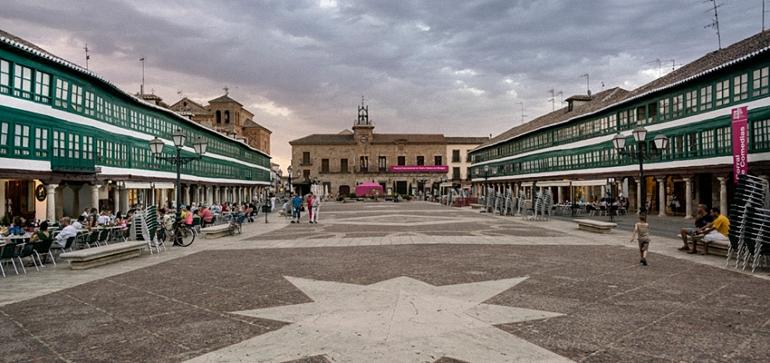 Plaza Mayor de Almagro. Fitca40
