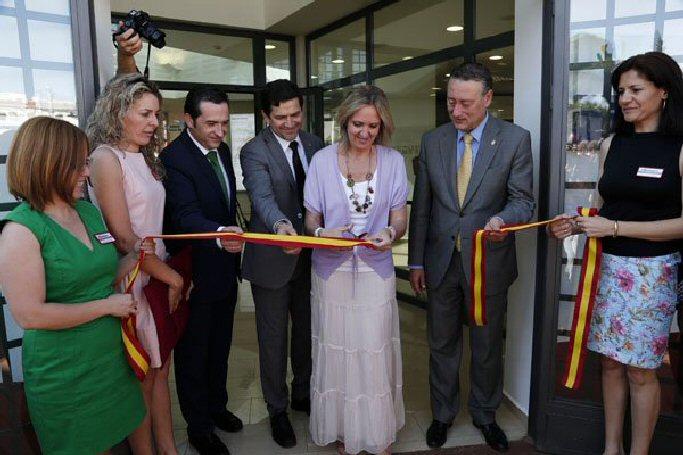 Almagro Inauguración del Centro Comarcal de Recepción de Visitantes del Campo de Calatrava