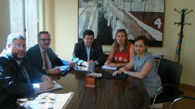 Bolaños Miguel Angel Valverde se reune con Gas Natural para iniciar el trámite de su instalación en el municipio