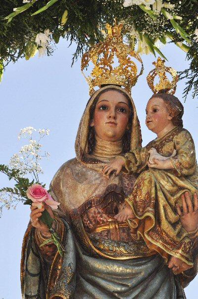 Ciudad Real Casi 10.000 romeros acompañan a la Virgen de Alarcos