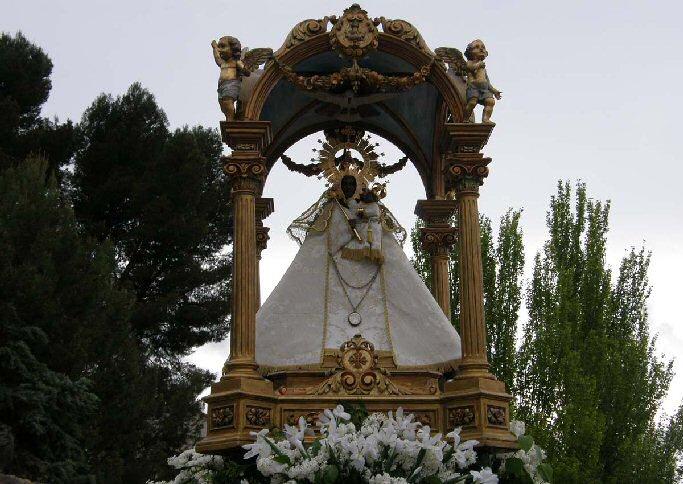 Daimiel 'La Morenita' regresa a su santuario