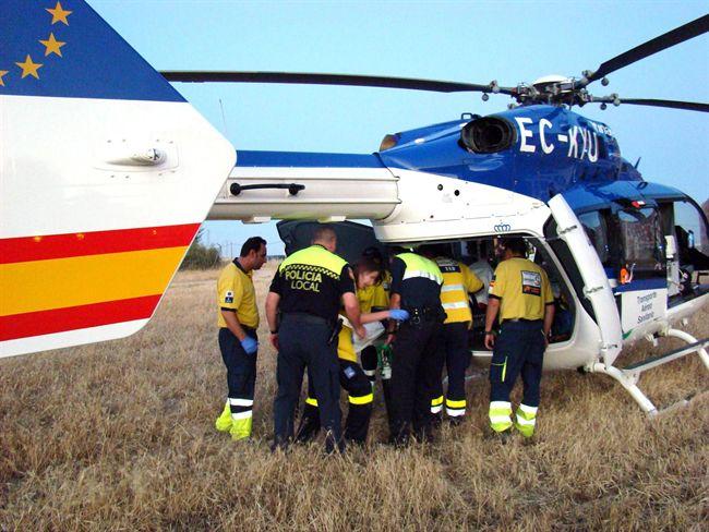 El Helicóptero del Sescan con base en Almagro contará con unidades de hematíes para ser suministrados en situaciones de emergencia