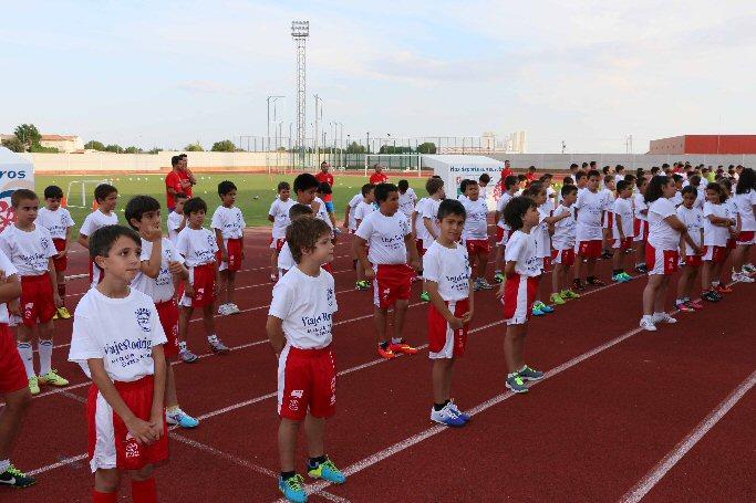La Concejalía de Deportes de Miguelturra inaugura el Campus de Fútbol para este verano
