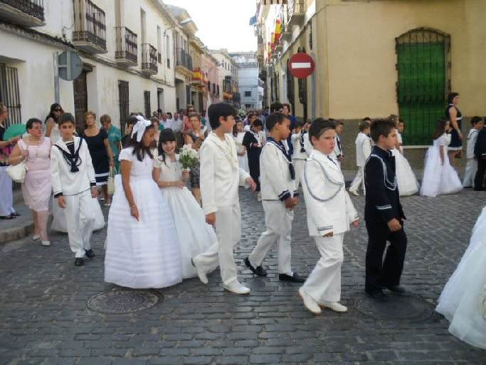 Manzanares Bando para la procesión del Corpus