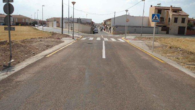 Miguelturra Concluidas las obras de los caminos locales que unen la variante A-43 y IV Centenario