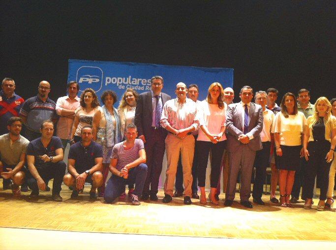 Pozuelo de Calatrava Azucena Hervás es elegida presidenta local del Partido Popular