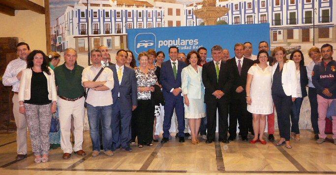 Valdepeñas Antonio de La Torre es elegido presidente local del Partido Popular