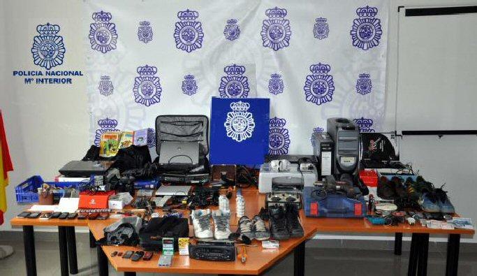 detenido como presunto autor de siete robos con fuerza en comercios de Ciudad Real