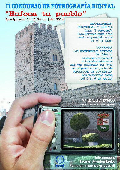 Bolaños Concurso de Fotografia Digital Enfoca tu Pueblo
