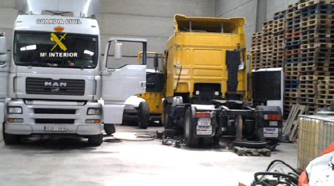 Cinco detenidos por robar un camión en Miguelturra