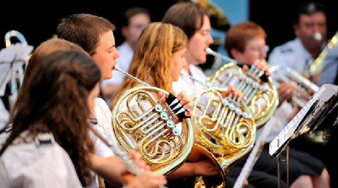 La Banda de Música de Almagro triunfa 'entre dos aguas' en el Festival Internacional de Teatro Clásico