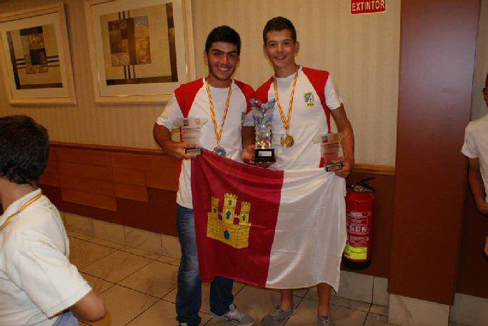 Los manzanareño Adrián Macía y Manuel Blanco, campeones de España de pesca de agua dulce