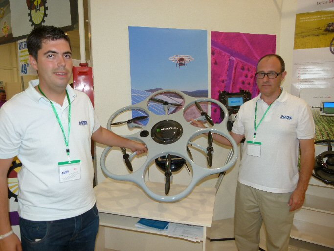 Manzanares Un dron para fotografía aérea, premio a la innovación tecnológica de la 54ª Feria Nacional del Campo