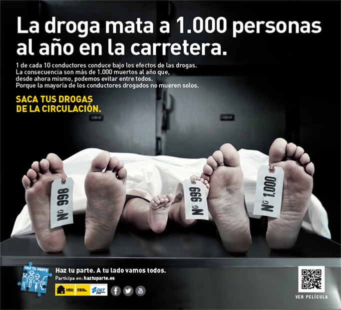 Nueva campaña de la DGT contra la droga y el alcohol