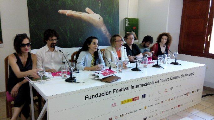 rueda de prensa festival internacional de teatro clasico de almagro