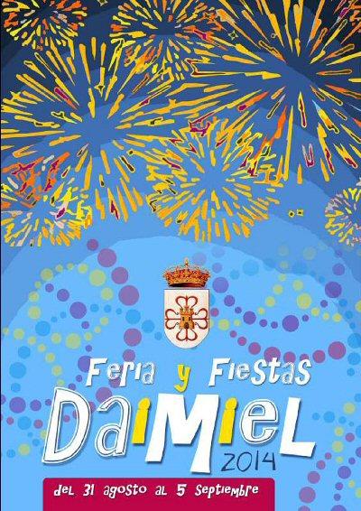 Daimiel Feria y Fiestas 2014. Actos programados para mañana domingo 31 de agosto