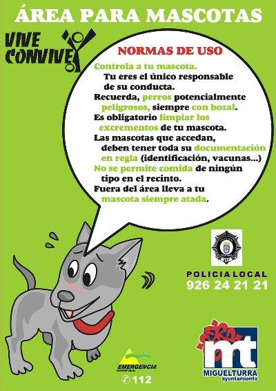 Miguelturra Iniciadas las obras de acondicionamiento de la primera zona libre para mascotas