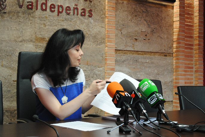 """Valdepeñas Ruiz lamenta que la oposición busque la """"alarma social"""" con falsas afirmaciones sobre la Ordenanza de Convivencia"""