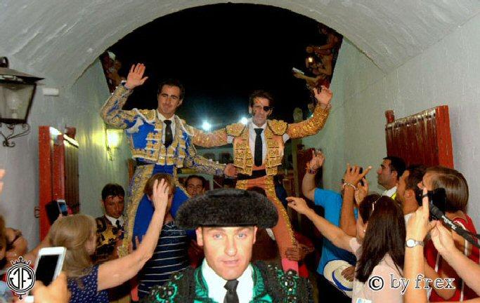 Vuelven los toros a Almagro con Padilla y El Fandi por la puerta grande