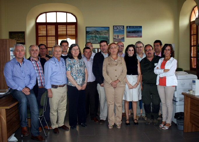 Calzada de calatrava la consejera de agricultura visita for Oficina comarcal agraria