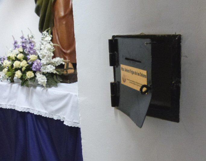 Daimiel Roban esta madrugada el dinero de los cepillos de la parroquia de Santa María (ampliación)