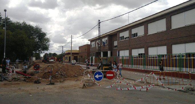 El PSOE de Calzada de Calatrava denuncia la pésima gestión de obras del Ayuntamiento