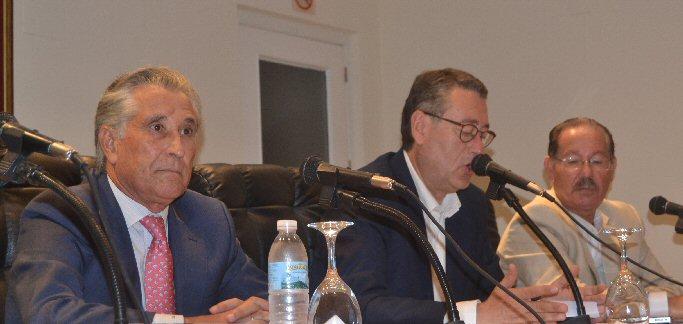 Francisco Asensio presentó Hombres Ilustres de Almagro