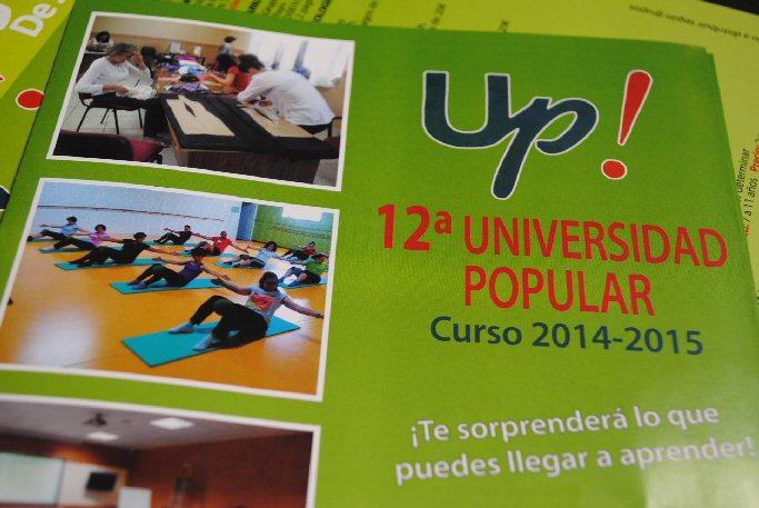 La Universidad Popular de Valdepeñas incrementa hasta 72 los cursos que impartirá este año