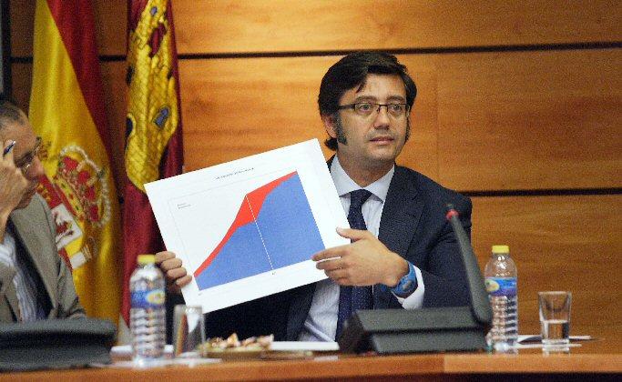 La deuda de Castilla-La Mancha se situó en 12.341 millones de euros