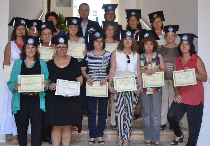 Luis Maldonado clausura el XII Curso de Blonda y Tönder de la Universidad Popular de Almagro