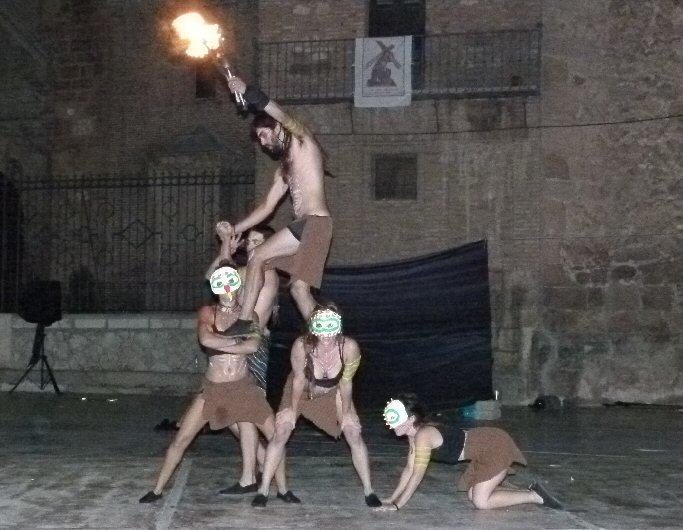 Manzanares Danza y fuego pusieron el broche al 40º FITC Lazarillo