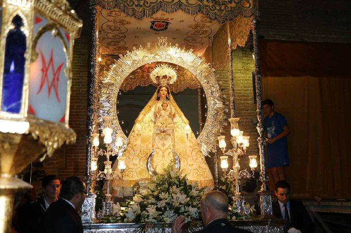 Miguelturra La Procesión de la Virgen de la Estrella punto final a las ferias y fiestas 2014