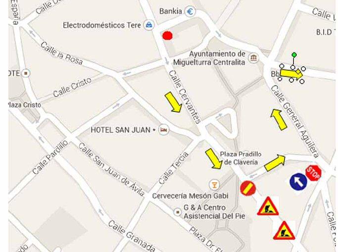 Miguelturra Se inician las obras de mejora de accesibilidad y movilidad en la calle Lentejuela