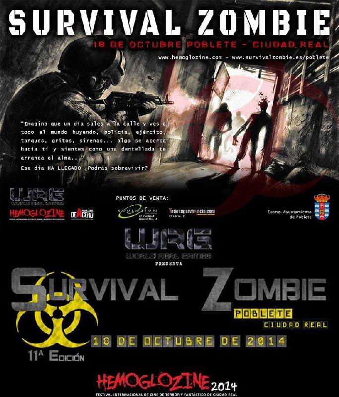 Poblete, capital nacional del terror Survival Zombie