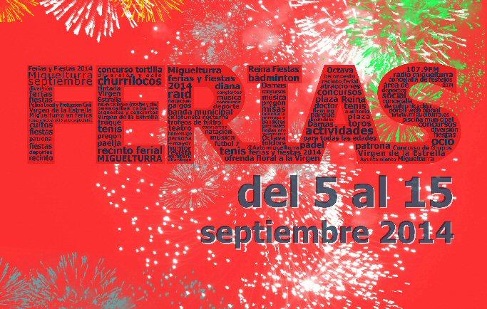Programa Ferias y Fiestas Miguelturra 2014
