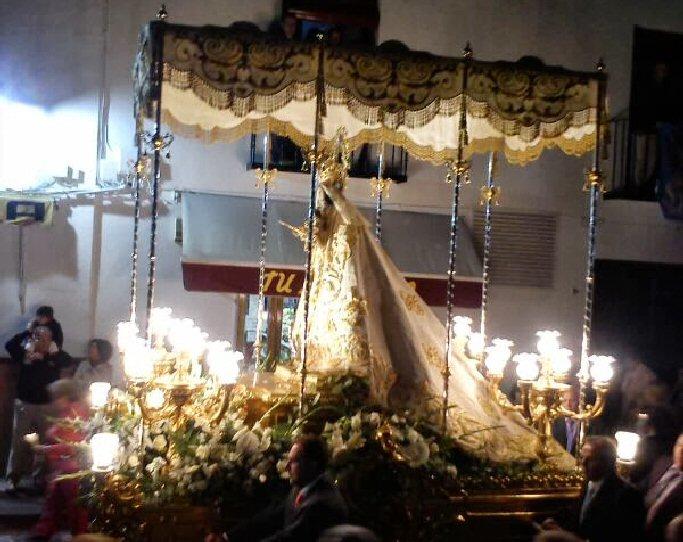 Almagro Este domingo regresa Ntra. Sra. la Virgen de las Nieves del santuario