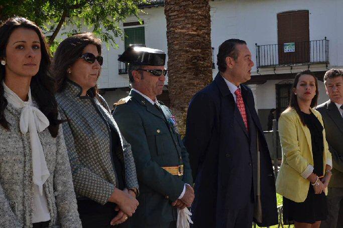 Almagro conmemoró el Día de la Hispanidad
