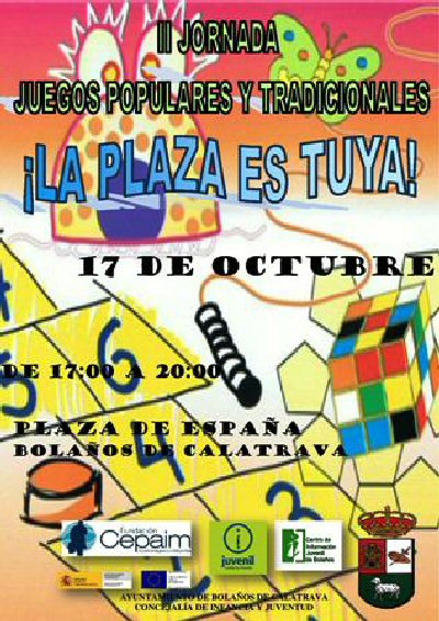 Bolaños Vuelven las Jornadas de Juegos Populares y Tradicionales en el programa La Plaza es Tuya