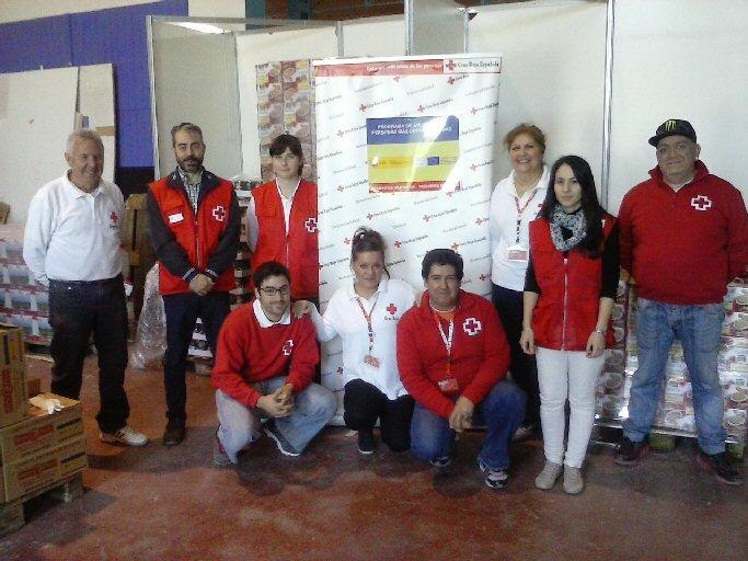 Cruz Roja Valdepeñas reparte más de 21 toneladas de alimentos a 355 familias