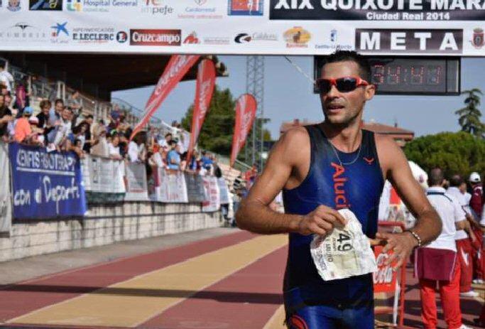 Los almagreños Gema Arenas y Jesús Calle triunfaron en la XIX Quixote Maratón