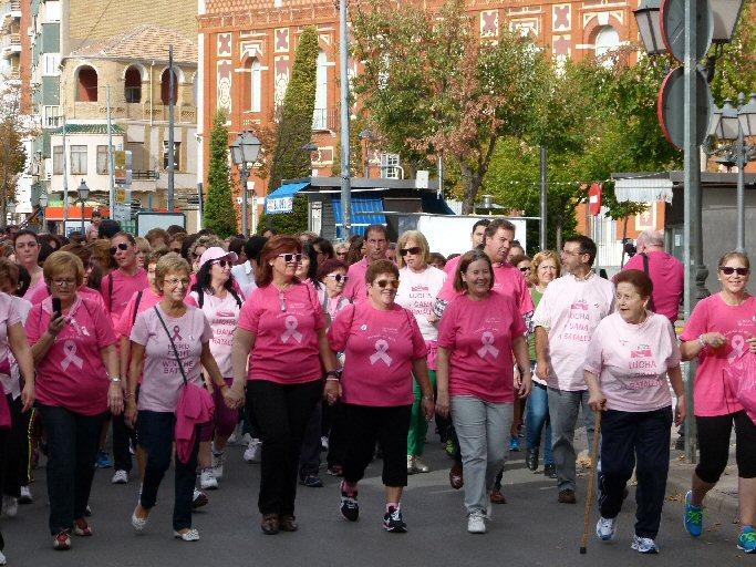 Manzanares Concienciación y solidaridad frente al cáncer de mama