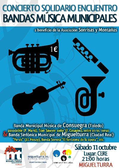 Miguelturra Encuentro Solidario de Bandas a favor de Sonrisas y Montañas