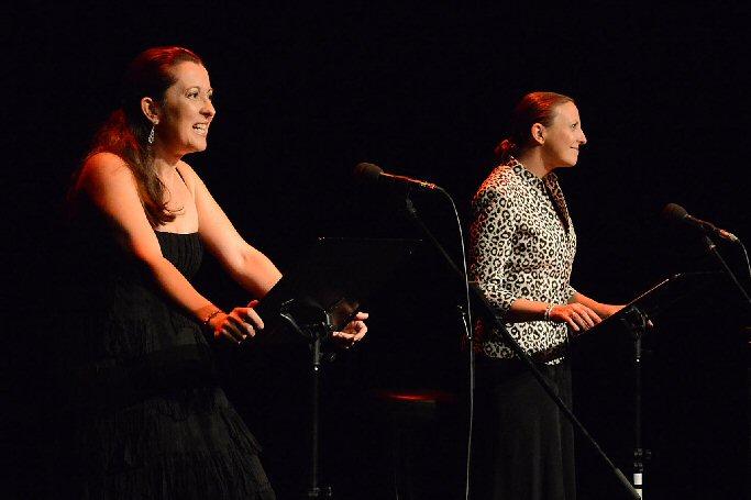 Pepa Pedroche y Nuria Gallardo inician con éxito de público el 29 Encuentro de Poesía de Almagro