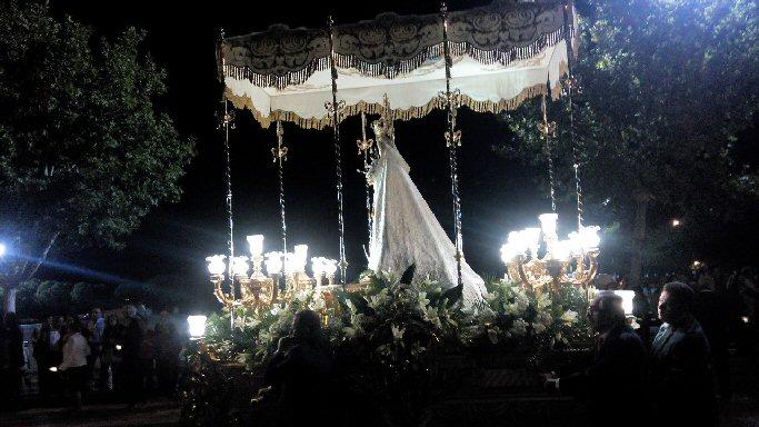 Regreso de Ntra. Sra. la Virgen de las Nieves a Almagro
