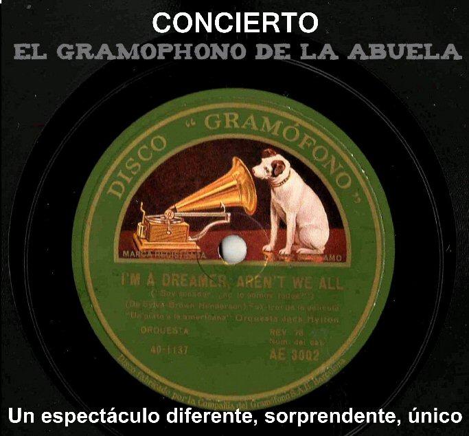 """Valdepeñas """"El Gramóphono de la Abuela"""" sonará hoy en el Teatro Auditorio Municipal"""