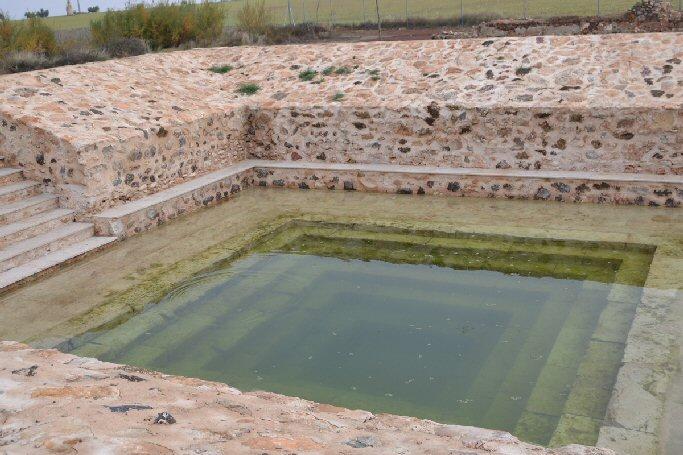 Almagro Terminadas las obras de recuperación de los Baños Termales del Santuario de la Virgen de las Nieves