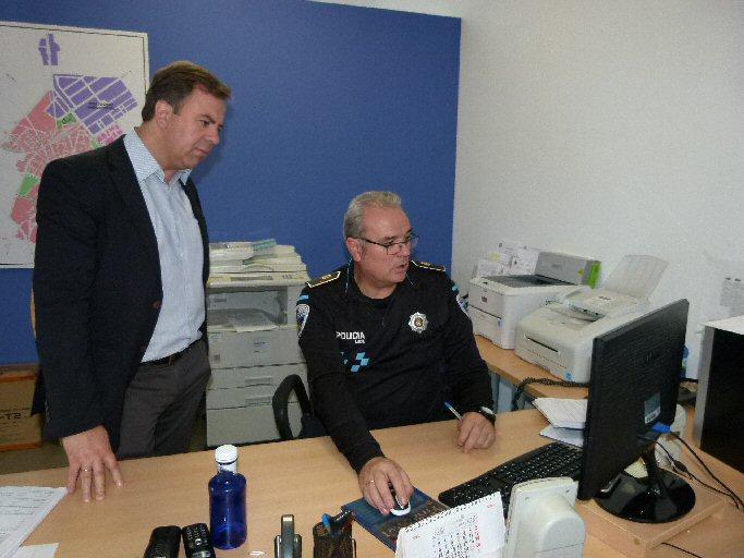 La Policía Local de Manzanares, a un click