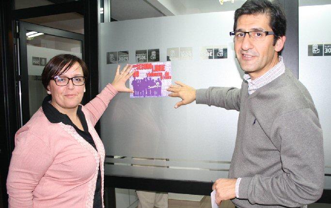 Las agrupaciones socialistas de la provincia de Ciudad Real renuevan su compromiso contra la violencia de género