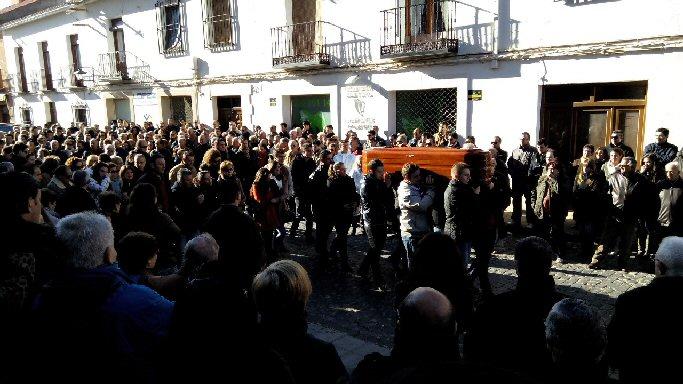Almagro Multitudinaria despedida a Mario López Prieto en su funeral