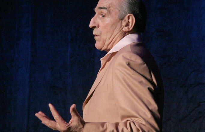 Almagro Recital poético del actor Saturnino García